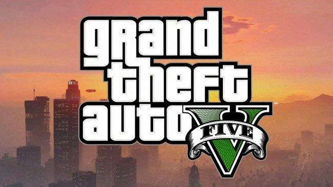 logo portada de GTA V