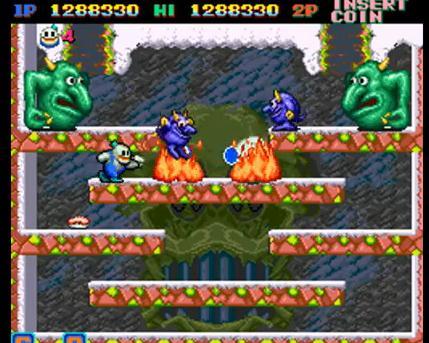 25 videojuegos míticos en Flash Snow-bros-boss-4