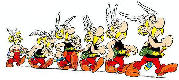 Evolución de Asterix