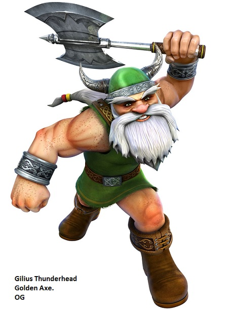 Enano del Golden Axe